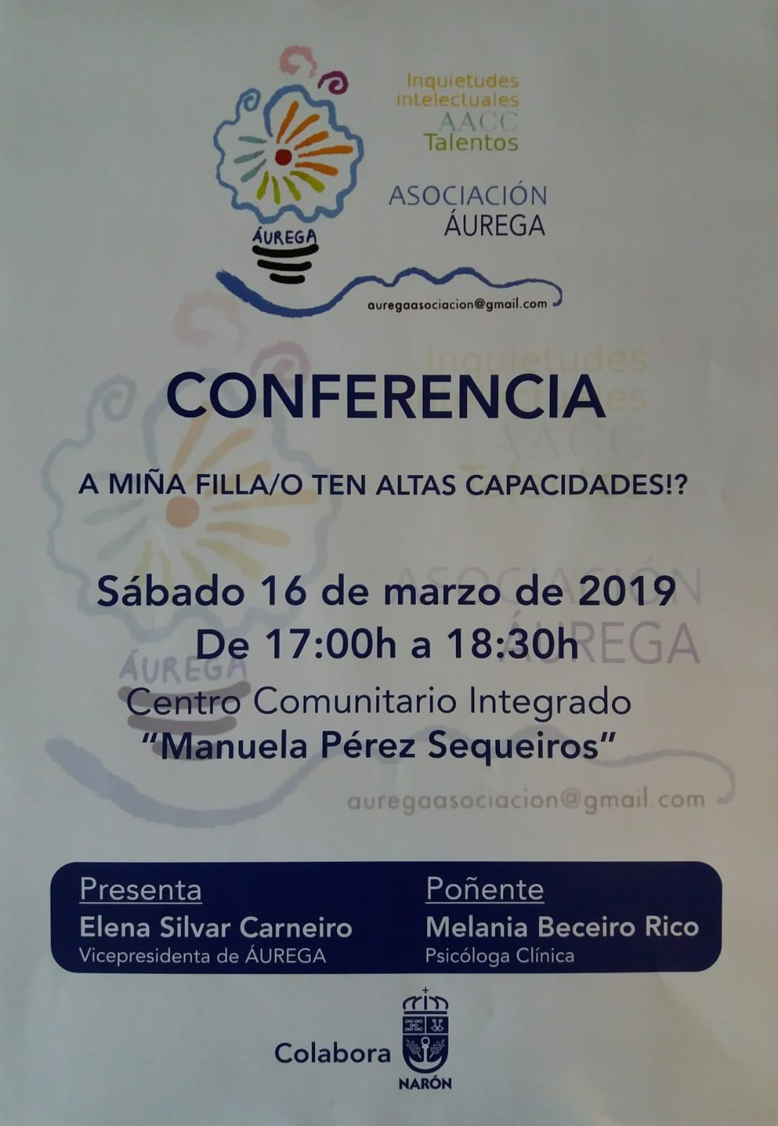 cartel primera conferencia