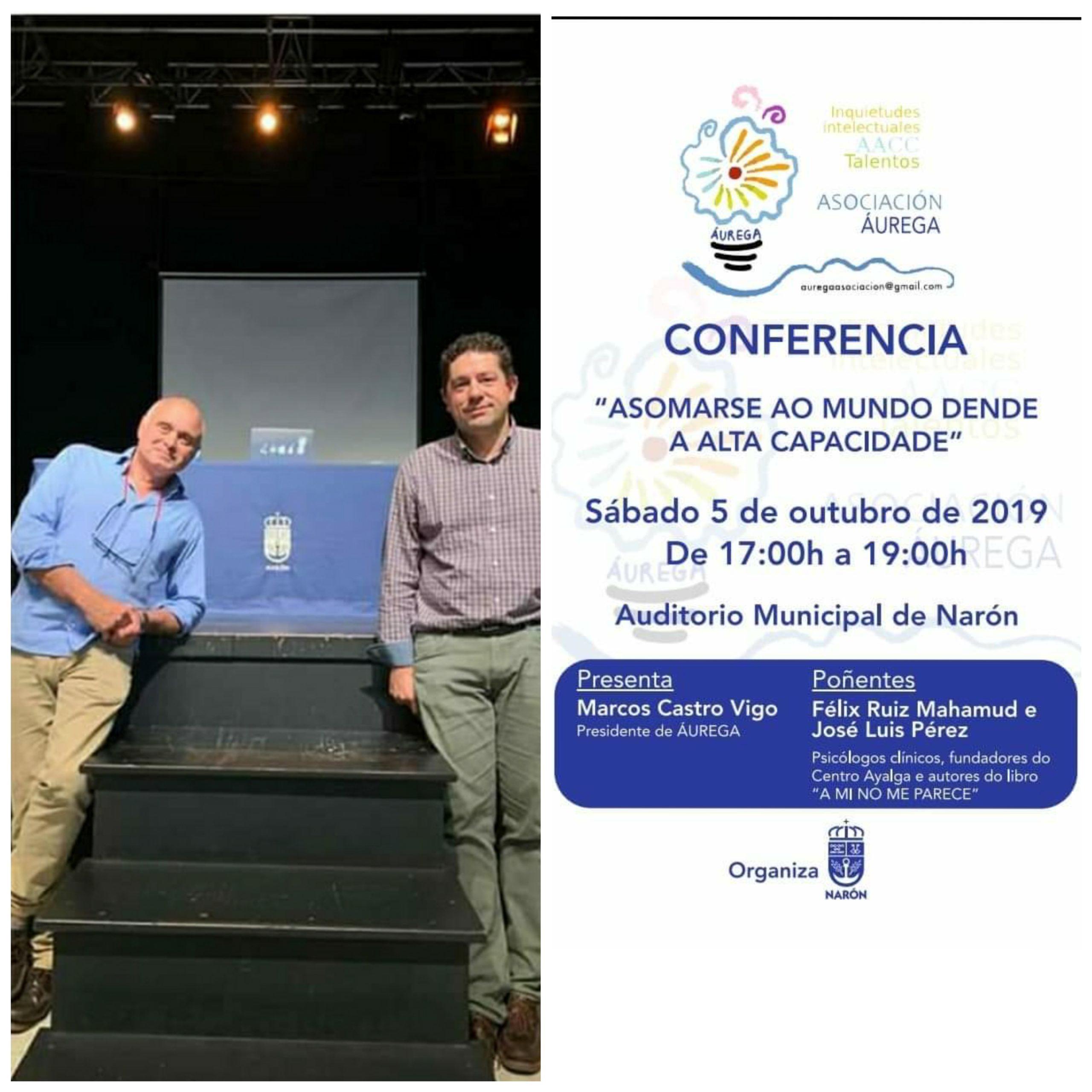 conferencia centro Ayalga